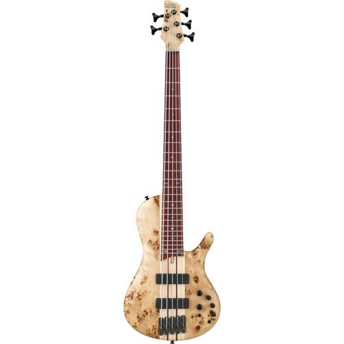 Ibanez SR Bass Workshop Series - SRSC805 - 5-String Electric Bass Guitar (Natural Flat)