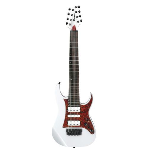 Ibanez TAM10 Tosin Abasi Signature Series 8-String Electric Guitar (White)