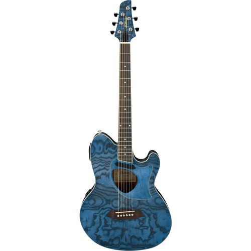 Ibanez TCM50 Talman Acoustic/Electric Guitar (Dark Night Ocean)