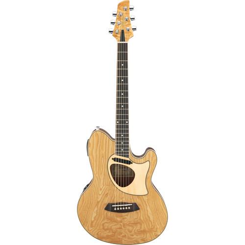 Ibanez TCM50 Talman Acoustic/Electric Guitar (Natural High Gloss)