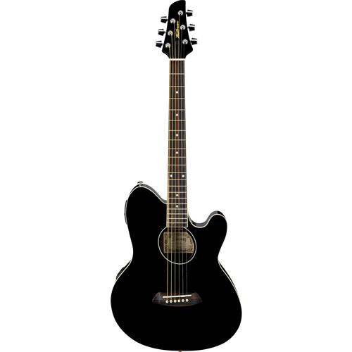 Ibanez TCY10E Talman Series Acoustic/Electric Guitar (Black)