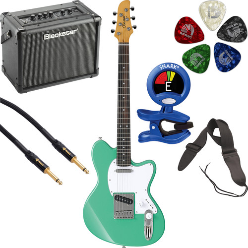 Ibanez TM302 Talman Standard Series Electric Guitarist's Starter Kit (Sea Foam Green)