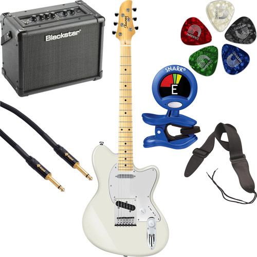 Ibanez TM302M Talman Standard Series Electric Guitarist's Starter Kit (Ivory)