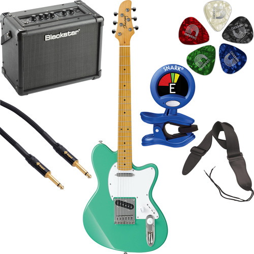 Ibanez TM302M Talman Standard Series Electric Guitarist's Starter Kit (Sea Foam Green)