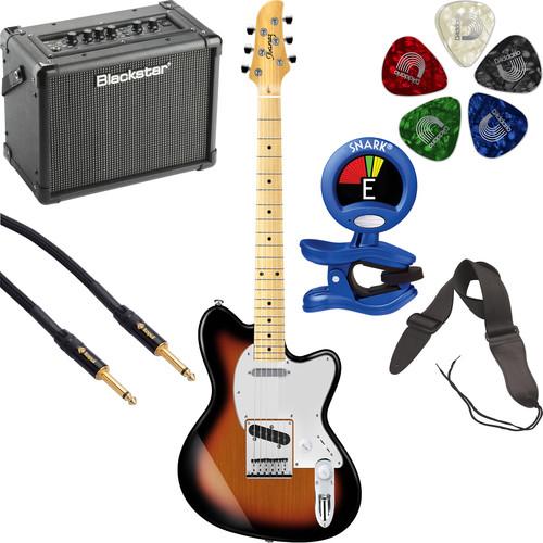 Ibanez TM302M Talman Standard Series Electric Guitarist's Starter Kit (Tri-Fade Burst)