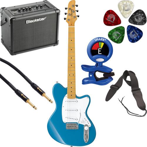 Ibanez TM330M Talman Standard Series Electric Guitarist's Starter Kit (Bright Metallic Blue)