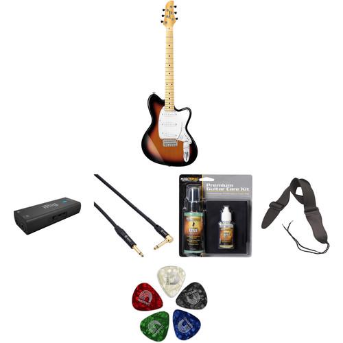 Ibanez TM330M Talman Standard Series Electric Guitar Starter Recording Kit (Tri Fade Burst)