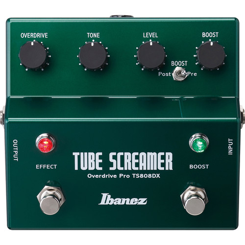 Ibanez TS808DX - Tube Screamer w/Booster