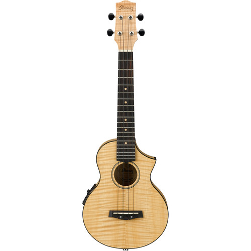 Ibanez UEW12E Acoustic/Electric Concert Ukulele (Open Pore Natural)