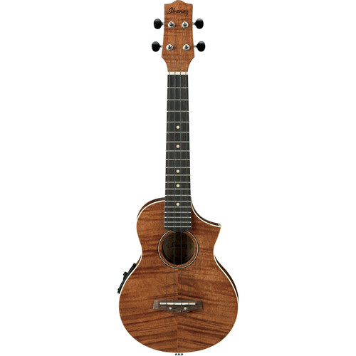 Ibanez UEW15E Acoustic/Electric Concert Ukulele (Open Pore Natural)