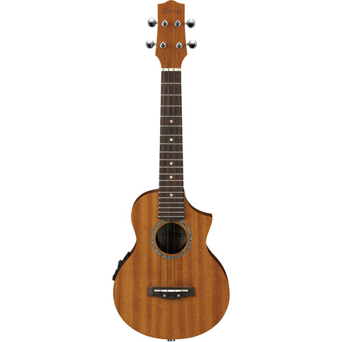 Ibanez UEW5E - Concert-Style Ukulele - Acoustic/Electric (Open-Pore Natural)