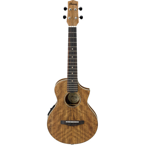 Ibanez UEWT14E Acoustic/Electric Tenor Ukulele (Open Pore Natural)