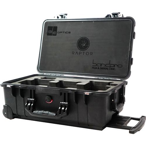 IBE OPTICS Custom Pelican Case for Raptor Lens