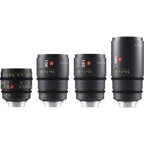 IBE OPTICS Raptor Take 2 Set Kit With 180mm Lens