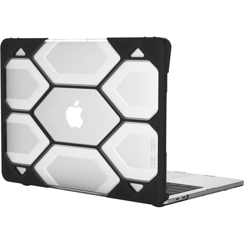 iBenzer Hexpact Case for MacBook Pro Retina 13 (Touch & Non-Touch Bar, Clear)