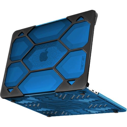 "iBenzer Hexpact Case for 13.3"" Retina MacBook Pro (Blue)"