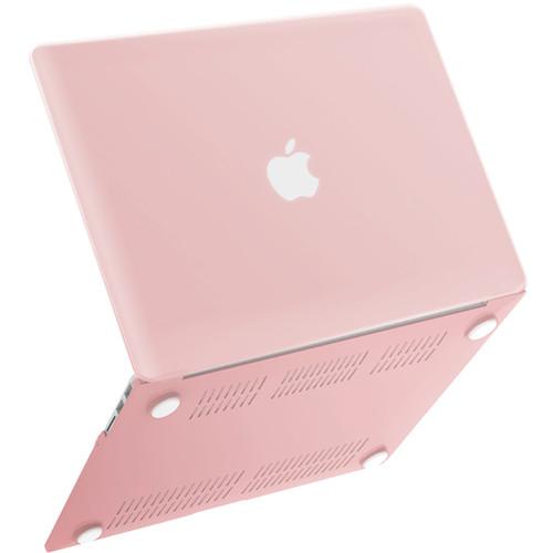 """iBenzer Plastic Hard Case for Apple MacBook Air 11"""" (Rose Quartz)"""