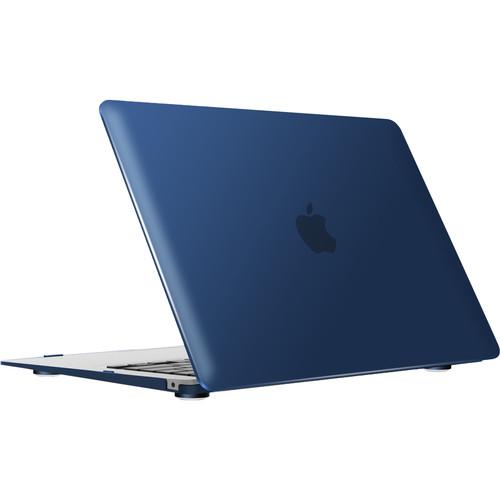 """iBenzer Neon Party MacBook Air 13"""" Case (2018, Navy Blue)"""