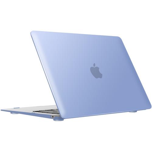 """iBenzer Neon Party MacBook Air 13"""" Case (2018, Serenity Blue)"""