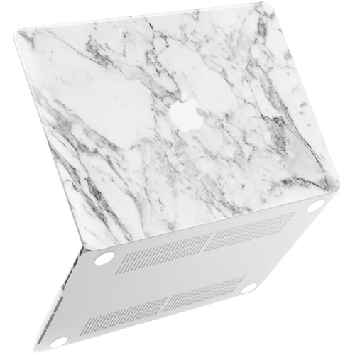 "iBenzer Neon Party MacBook Pro Retina 13"" Case (White Marble)"