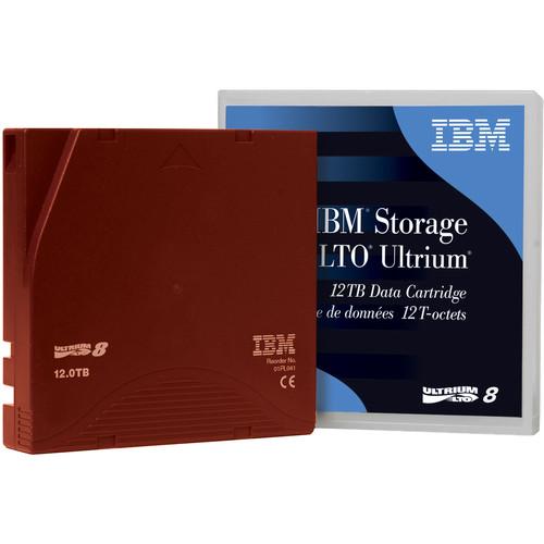 IBM LTO 8 Tape Cartridge - 12.0TB