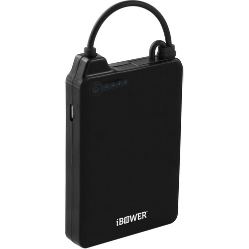 Bower Power Lock 6000mAh Battery Pack for Android and iOS