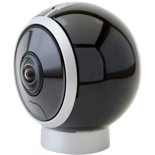 ALLie 8MP Day/Night IR 360° Dual Lens Spherical VR Camera (Black)