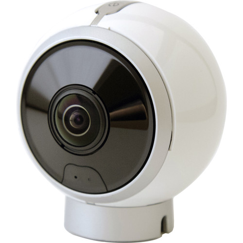 ALLie 8MP Day/Night IR 360° Dual Lens Spherical VR Camera (White)