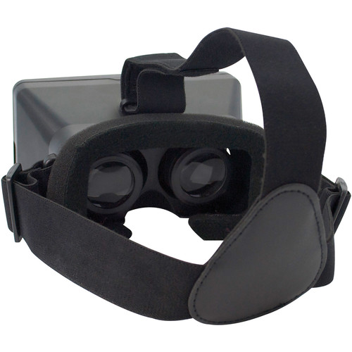iCandy 3D Virtual Reality Goggles Smartphone Headset (Black)