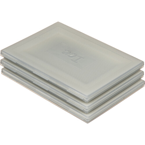 Ice Set Of 3 Hard Plastic Cases 100 x 150mm
