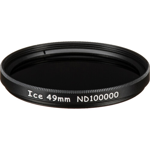 Ice 49mm ND100000 Solid Neutral Density 5.0 Filter (16.5-Stop)