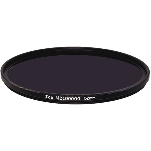 Ice 52mm ND100000 Solid Neutral Density 5.0 Filter (16.5-Stop)