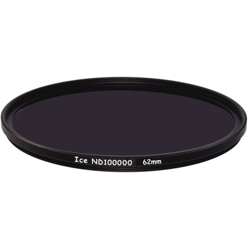 Ice 62mm ND100000 Solid Neutral Density 5.0 Filter (16.5-Stop)