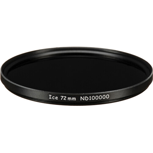Ice 72mm ND100000 Solid Neutral Density 5.0 Filter (16.5-Stop)