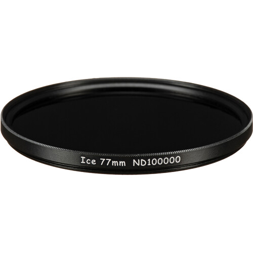 Ice 77mm ND100000 Solid Neutral Density 5.0 Filter (16.5-Stop)