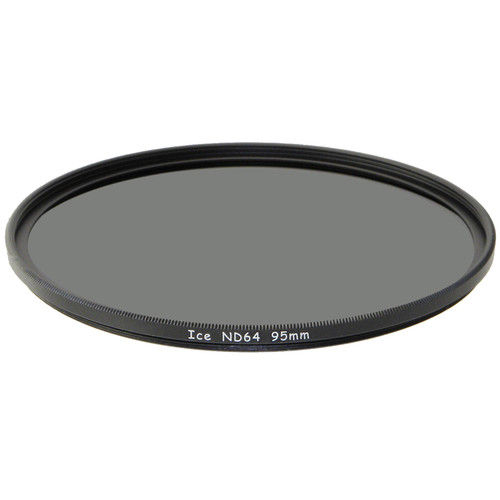 Ice 95mm ND64 Solid Neutral Density 1.8 Filter (6-Stop)