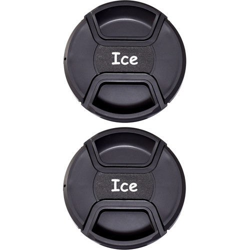 Ice 55mm Snap-On Front Lens Cap (2-Pack)