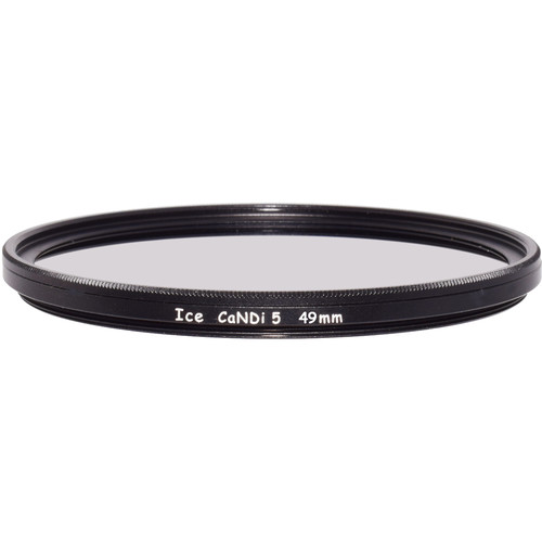 Ice 49mm CaNDi-5 Solid ND 1.5 and Circular Polarizer Filter (5-Stop)