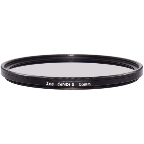 Ice 55mm CaNDi-5 Solid ND 1.5 and Circular Polarizer Filter (5-Stop)