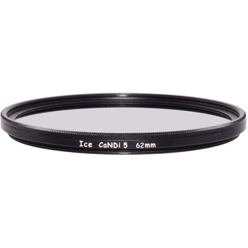 Ice 62mm CaNDi-5 Solid ND 1.5 and Circular Polarizer Filter (5-Stop)