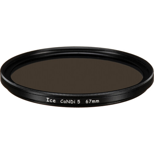 Ice 67mm CaNDi-5 Solid ND 1.5 and Circular Polarizer Filter (5-Stop)