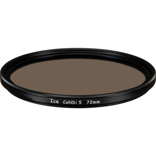 Ice 72mm CaNDi-5 Solid ND 1.5 and Circular Polarizer Filter (5-Stop)