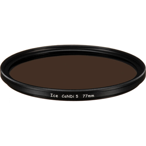 Ice 77mm CaNDi-5 Solid ND 1.5 and Circular Polarizer Filter (5-Stop)