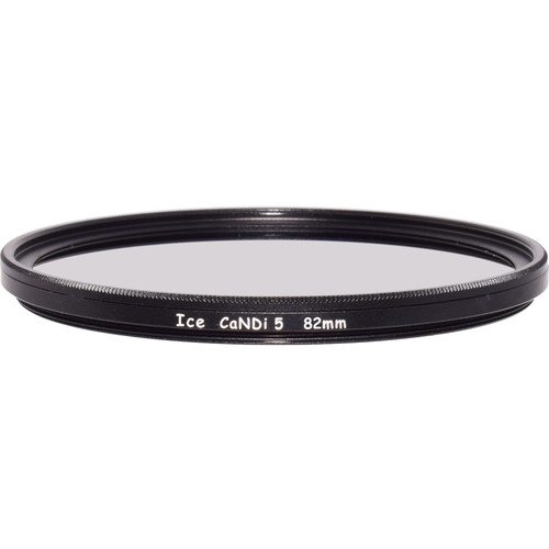 Ice 82mm CaNDi-5 Solid ND 1.5 and Circular Polarizer Filter (5-Stop)
