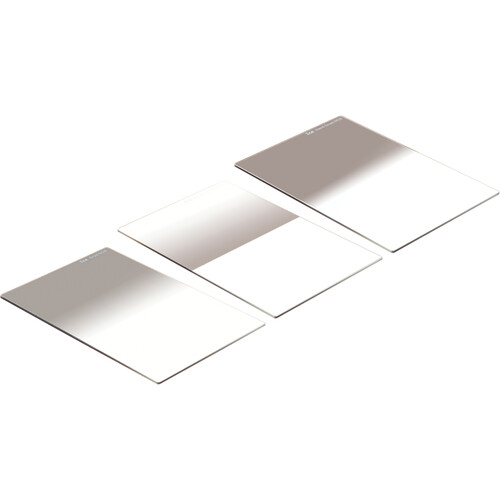 Ice 100 x 150mm Soft-Edge, Hard-Edge, and Reverse-Graduated ND Filter Kit (3-Stop)