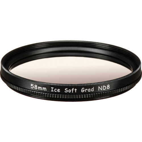 Ice 58mm Soft-Edge Graduated Neutral Density 0.9 Filter (3-Stop)