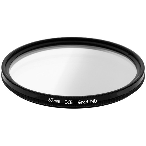 Ice 67mm Soft-Edge Graduated Neutral Density 0.9 Filter (3-Stop)