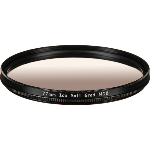 Ice 77mm Soft-Edge Graduated Neutral Density 0.9 Filter (3-Stop)