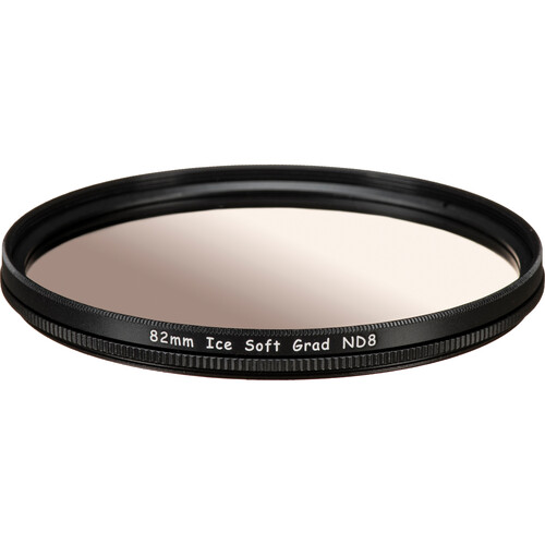 Ice 82mm Soft-Edge Graduated Neutral Density 0.9 Filter (3-Stop)