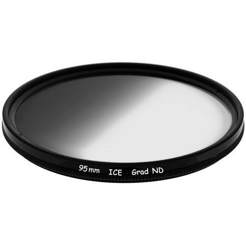 Ice 95mm Soft-Edge Graduated Neutral Density 0.9 Filter (3-Stop)